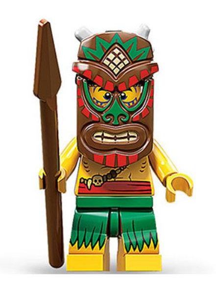 Lego Minifigür Seri 11 island warrior No:5