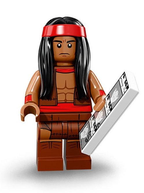 Lego Minifigür Batman 2 Seri Apache Chief