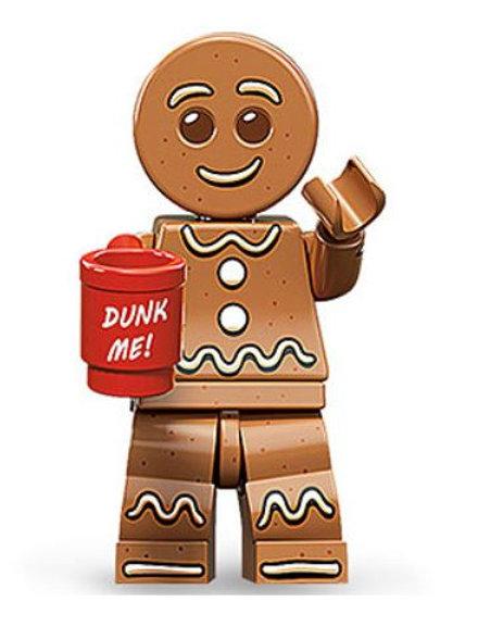 Lego Minifigür Seri 11 Gingerbread Man No:6