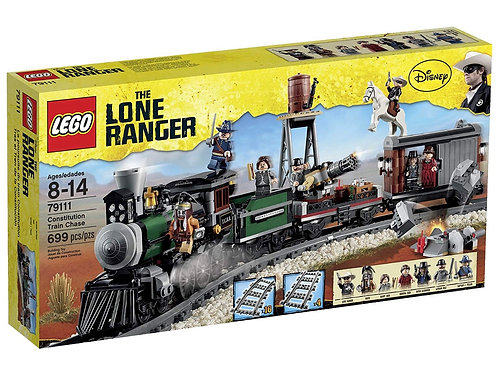 Lego The  Lone Ranger Constitution Train Chase 79111