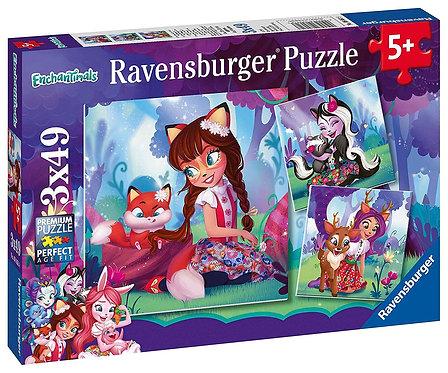 Ravensburger 3x49 (080618) Enchantimals
