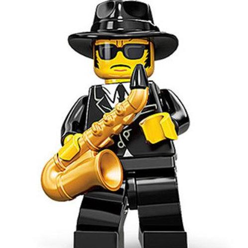 Lego Minifigür Seri 11 Jazz Musician No:12