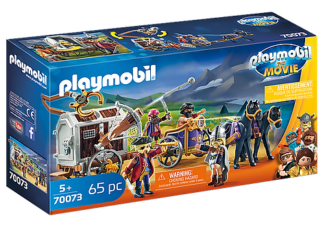 Playmobil 70073 The Movie Charlie with Prison Wagon