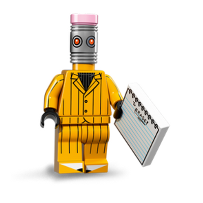 Lego Minifigür Batman Seri 1 The Eraser