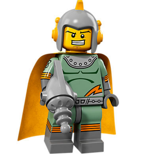 Lego Minifigür Seri 17 Retro Spaceman
