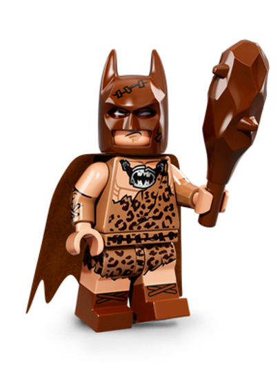 Lego Minifigür Batman Seri 1 Clan of the Cave Batman