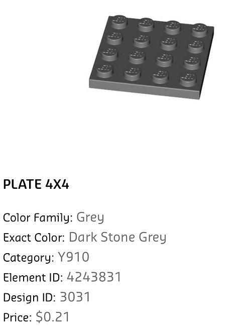 Plate 4x4