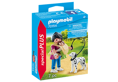Playmobil 70154 Mother with Baby and Dog