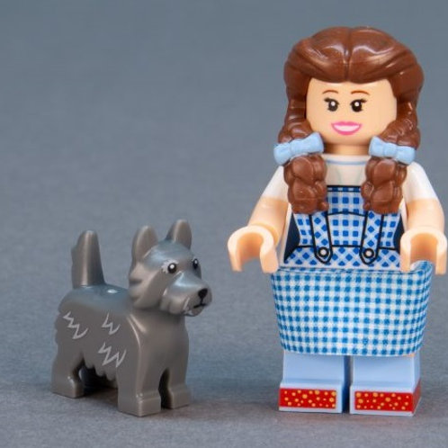 Lego Movie 2 Minifigure Series No:16 Dorothy Gale and Toto