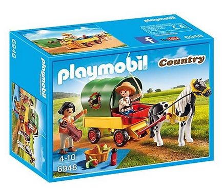 Playmobil 6948 Country Pony Wagon