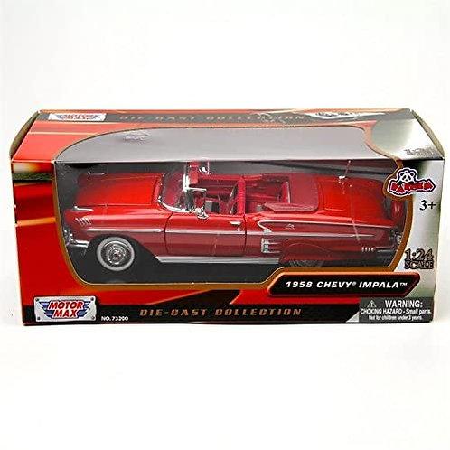 Motor Max 1:24 1958 Chevy İmpala