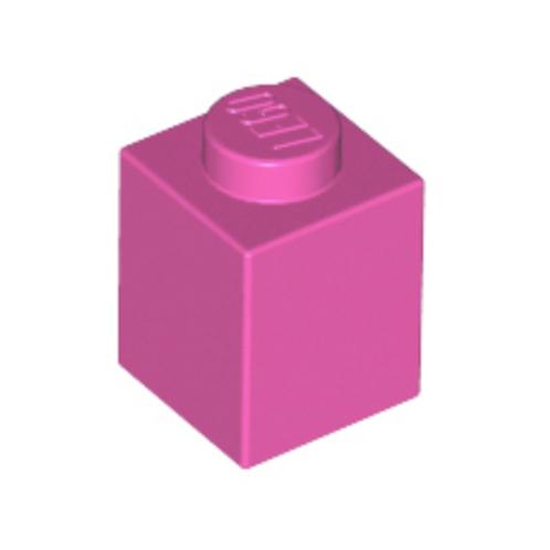 Part 3005 Brick 1 x 1 Dark Pink