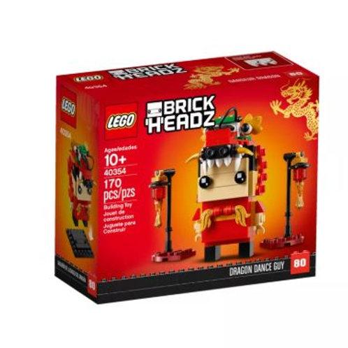 Lego Brick Headz 40354 Dragon Dance Guy