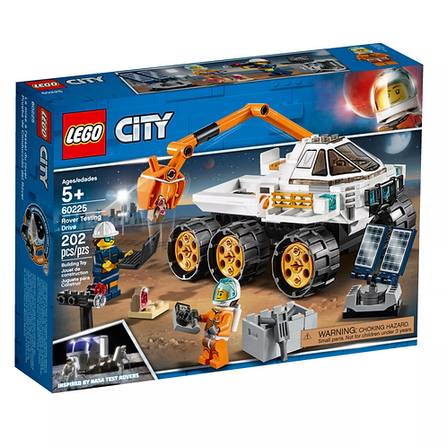 Lego City 60225 Rover Testing Drive