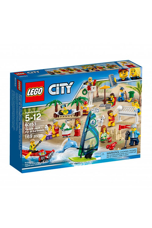 Lego City 60153 Fun At Beach People Pack