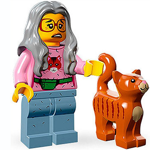 Lego Minifigür Movie Seri Mrs. Scratchen-Post