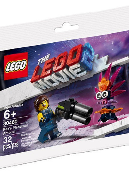 Lego Movie 2 Polybag 30460 Rex's Plantimal Ambush