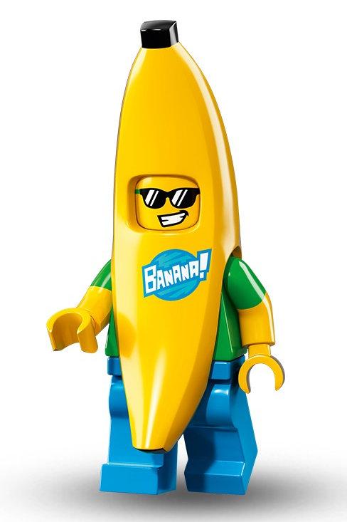 Lego Minifigür Seri 16 Muz adam