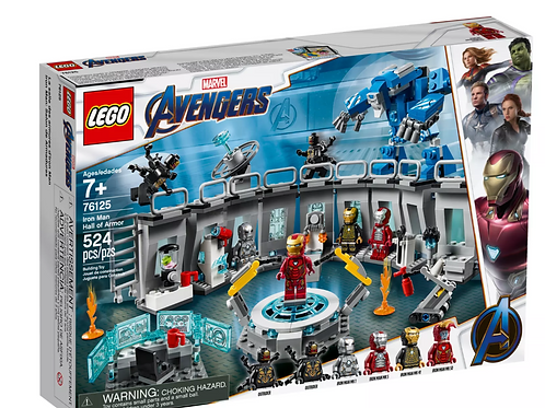 Lego Marvel 76125 Iron Man Hall of Armor