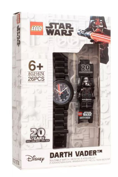 LEGO 5005824 20th Anniversary Darth Vader™ Link Watch