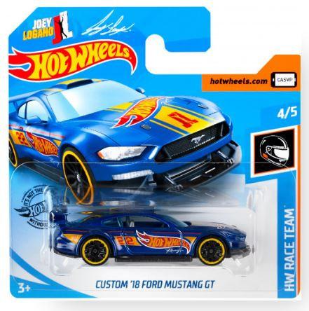 Hot Wheels Custom '18 Ford Mustang GT