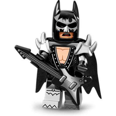 Lego Minifigür Batman Seri 1 Glam Metal Batman