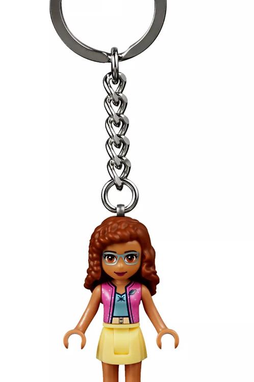 Lego Anahtarlık 853883 Olivia Key Chain