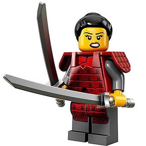 Lego Minifigür Seri 13 Samurai (Female) No:12