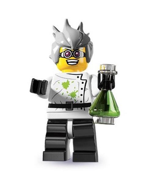 Lego Minifigür Seri 4 Crazy Scientist