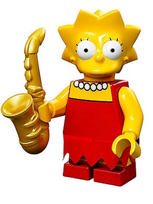 Lego Minifigür Simpsons Lisa Simpson No:4