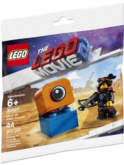 Lego Movie 2 Polybag 30527 Lucy vs. Alien İnvader