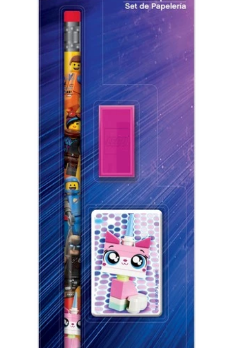 Lego Movie 2 Unikitty Pen set