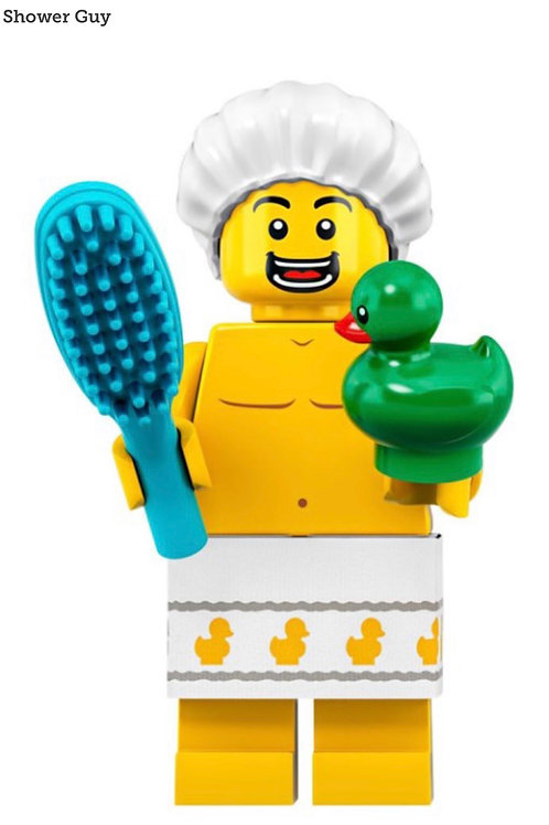 Lego Minifigür Seri 19 Shower Guy