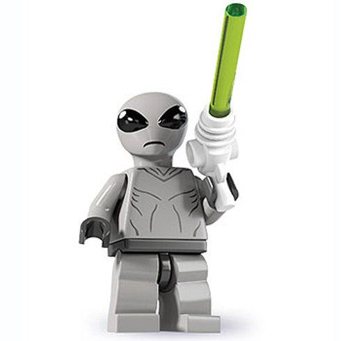 Lego Minifigür Seri 16 Classic Alien