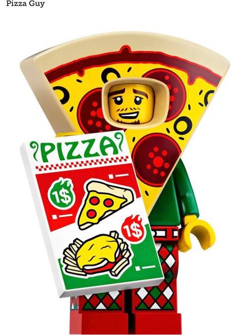 Lego Minifigür Seri 19 Pizza Guy