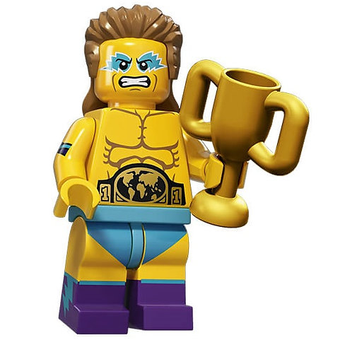 Lego Minifigür Seri 15 Wrestling Champion