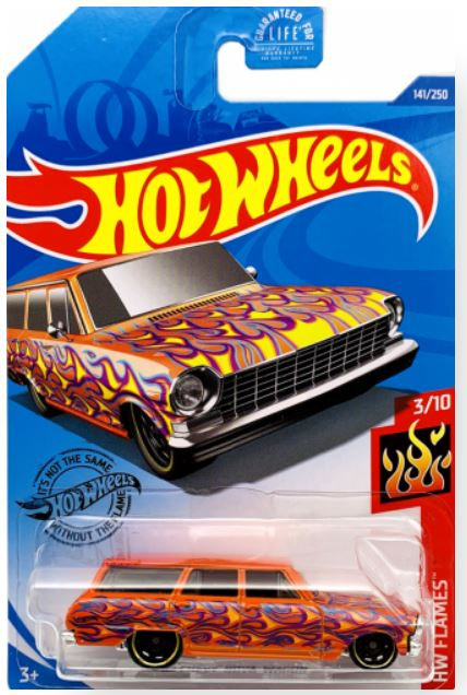 Hot Wheels 64 Chevy Nova Wagon