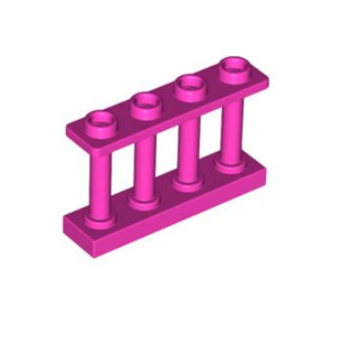 LEGO Fence Spindled 1 x 4 x 2 with 4 Top Studs (15332)