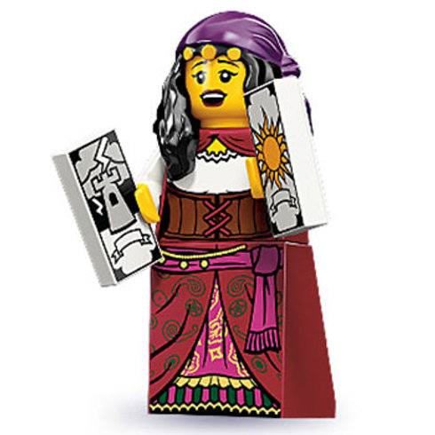 Lego Minifigür Seri 9 Fortune Teller No:9