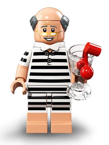 Lego Minifigür Batman 2 Seri Vacation Alfred