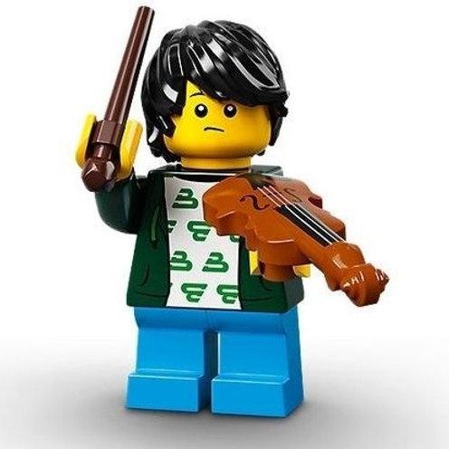 Lego Minifigür Seri 21 - 2 Violin Kid