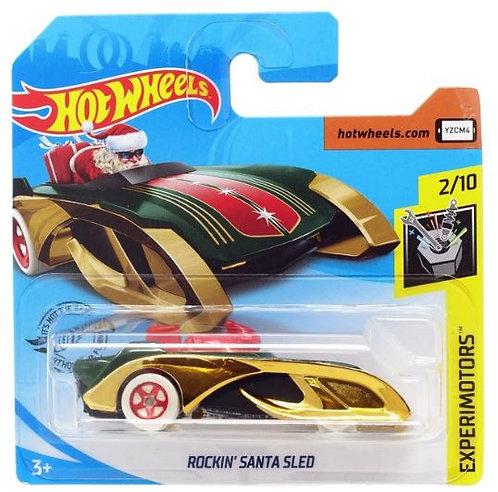 Hot Wheels Rockin Santa Sled