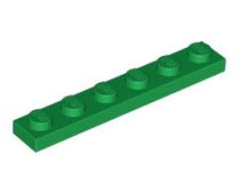 Part 3666 Plate 1 x 6 Green