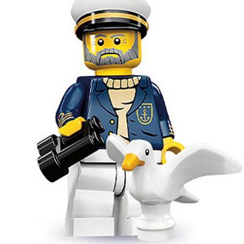 Lego Minifigür Seri 10 Sea Captain No:10