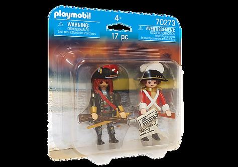 PLAYMOBIL® 70273 Duo Pack Piratenkapitän und Rotrock