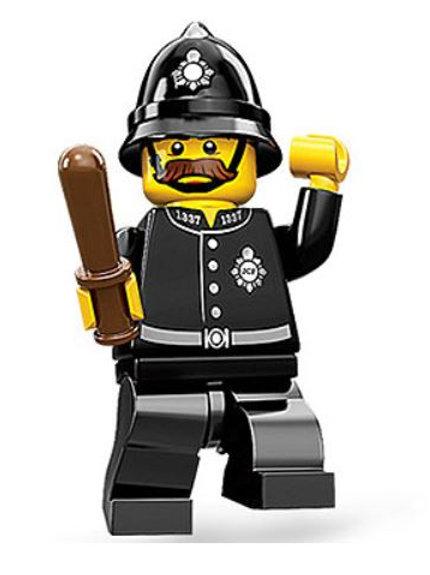 Lego Minifigür Seri 11 Constable No:15