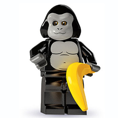 Lego Minifigür Seri 3 Gorilla Suit Guy No:12