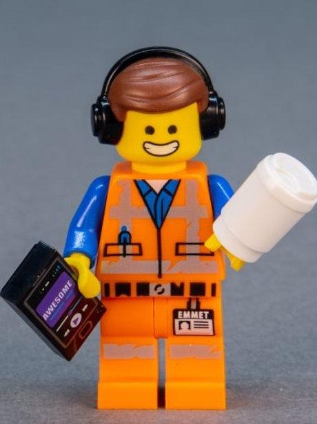 Lego Movie 2 Minifigure Series No:1 DJ Emmet