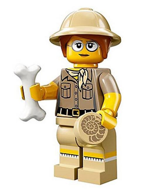 Lego Minifigür Seri 13 Paleontologist No:6