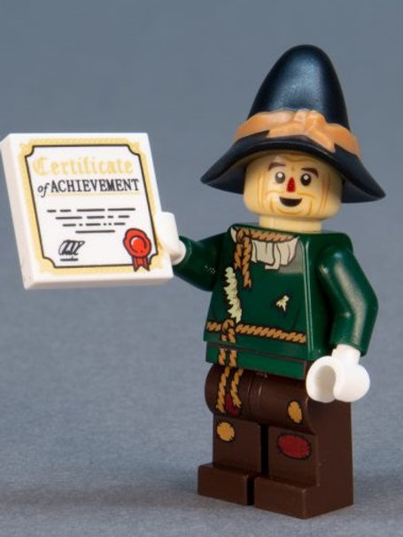 Lego Movie 2 Minifigure Series No:18 Scarecrow